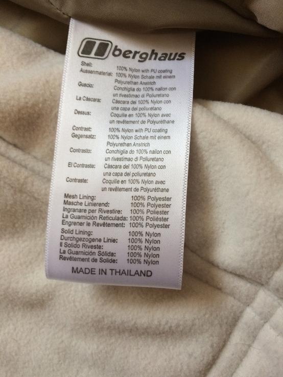 Куртка berghaus с флисовой кофтой, фото №5