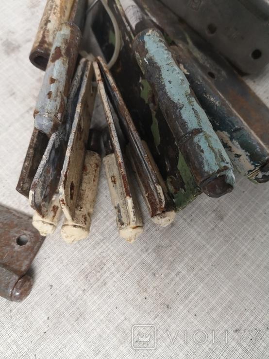 Петли завесы дверные СССР тип папа б/у, фото №8