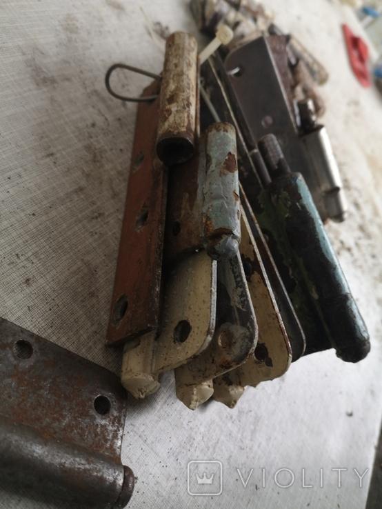 Петли завесы дверные СССР тип папа б/у, фото №10