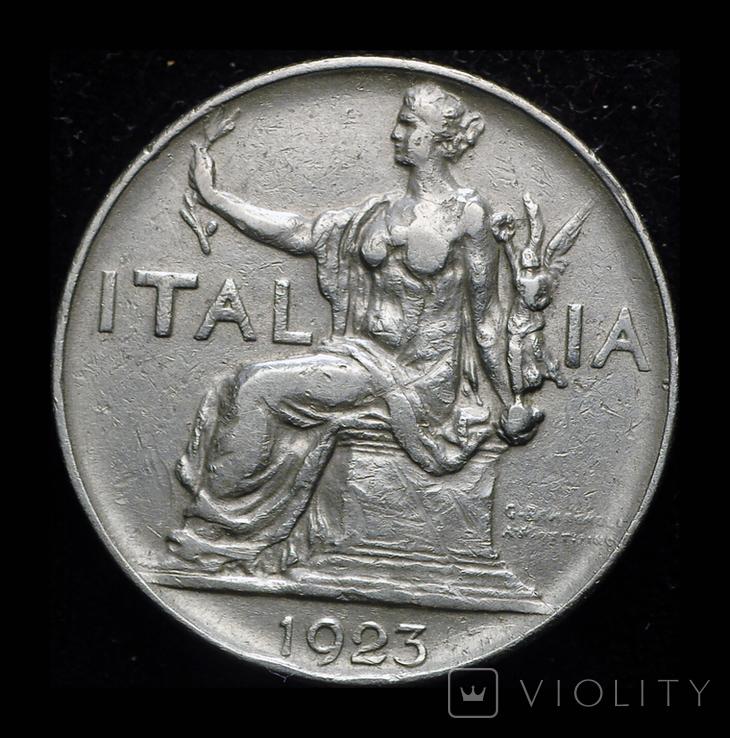 Италия лира 1923, фото №2