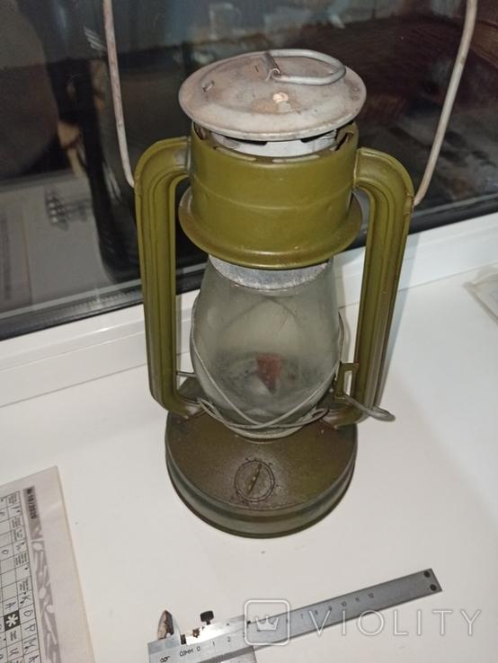 Керосиновая лампа 7ф-1 1957(1954)года НОВАЯ!, фото №6