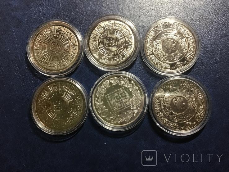 Монеты .Год крысы. Знаки зодиака 2020 г. Копии, фото №5