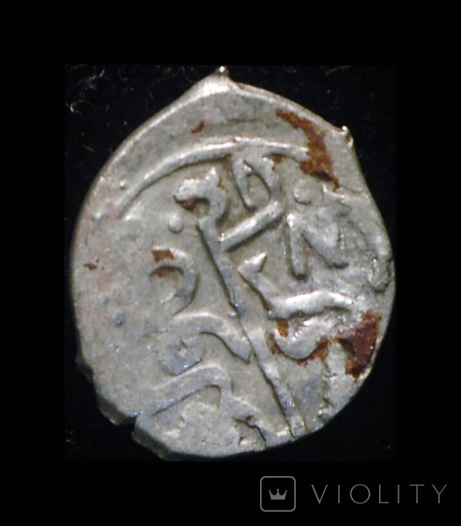 Крым акче 15 век серебро, фото №4