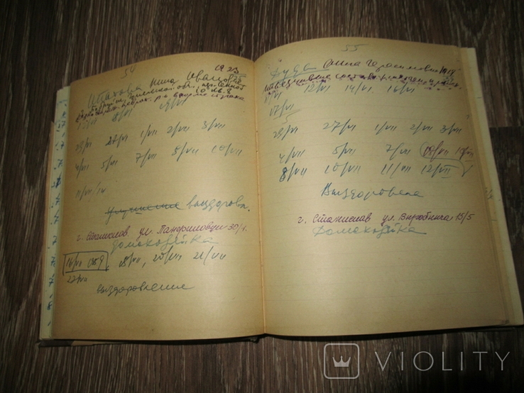 Книга Учета Результатов Лечения Гипнозом и внушением 1960, фото №10