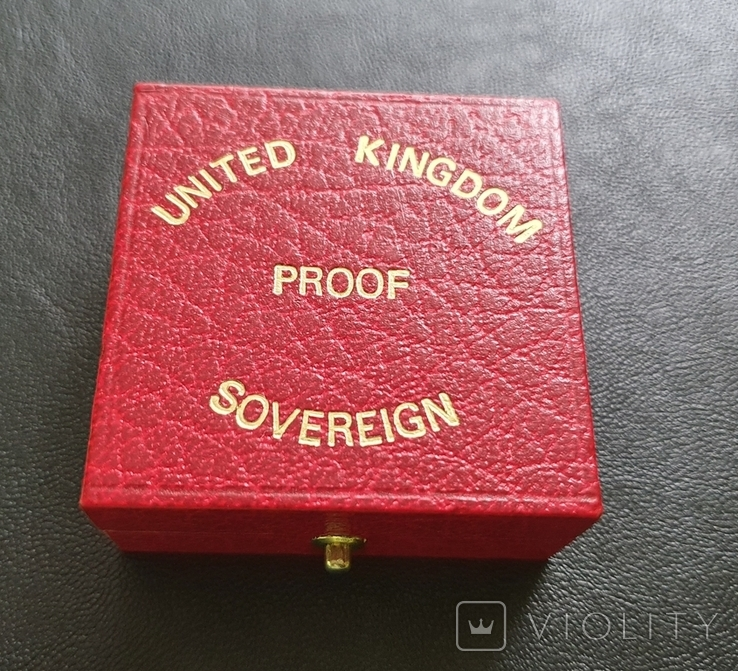 Соверен Sovereign 1983 Proof (повторно в связи с невыкупом), фото №8
