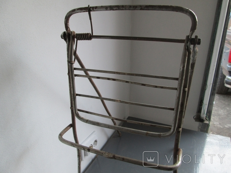 Багажник для мотоцикла универсальный, фото №3