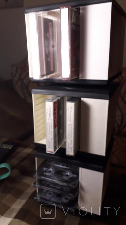 Кассетницы для аудиокассет 3штуки, фото №6