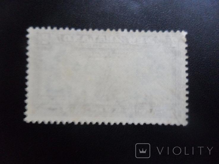 Корабли. Новая Зеландия. 1940 г. Парусники.  марка MVL, фото №3