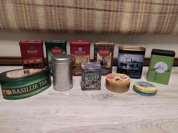 Банки от чая , конфет ., фото №2