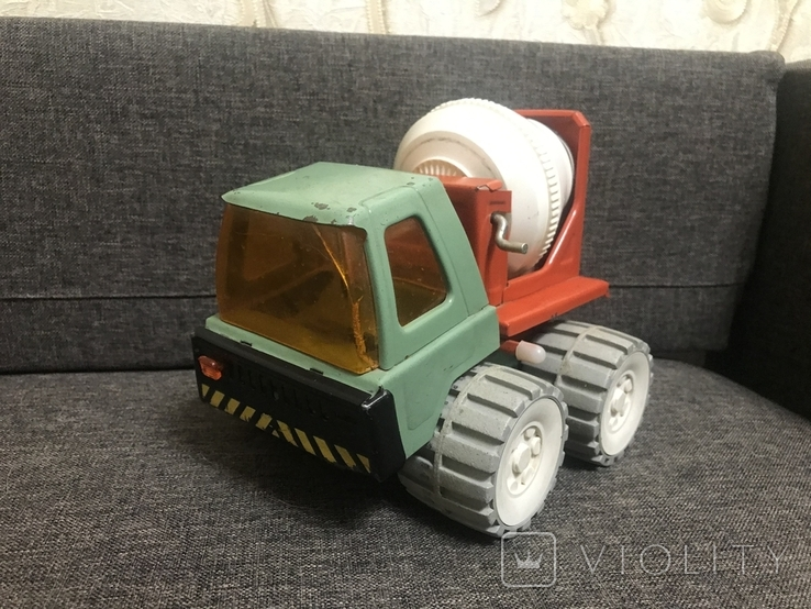 Машинка бетономешалка СССР, фото №3