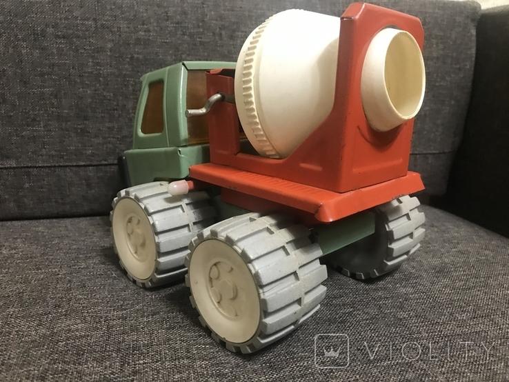Машинка бетономешалка СССР, фото №5