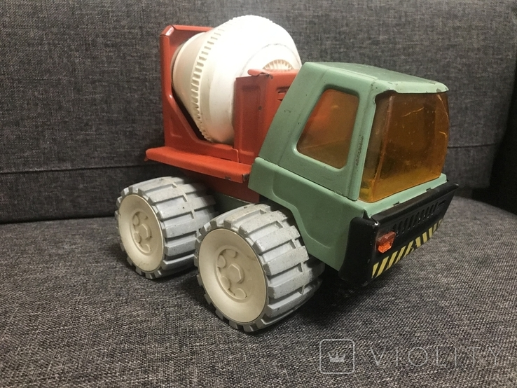 Машинка бетономешалка СССР, фото №2