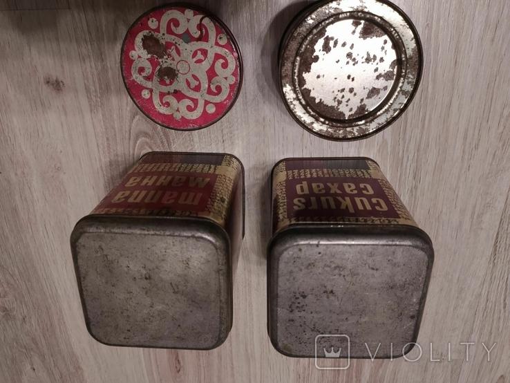 Банки от чая , специй , конфет монпансье., фото №6
