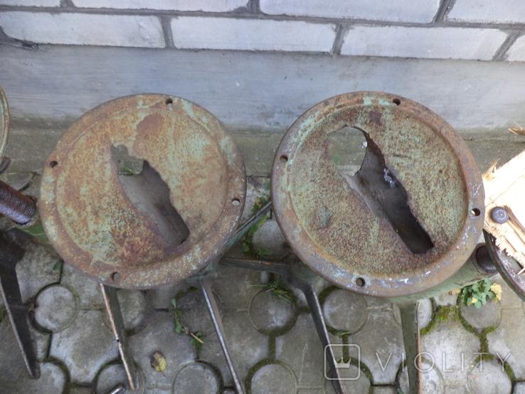 Стільчики виробничі чугунні 12 шт, фото №7