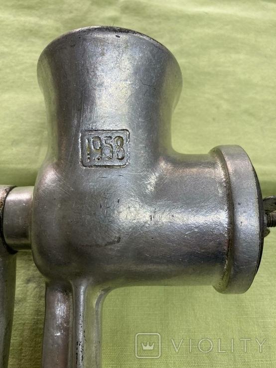 Мясорубка 1958г, фото №7