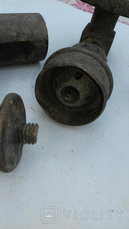 Детали паровой установки(машины)+2 бронз.ручки, фото №8