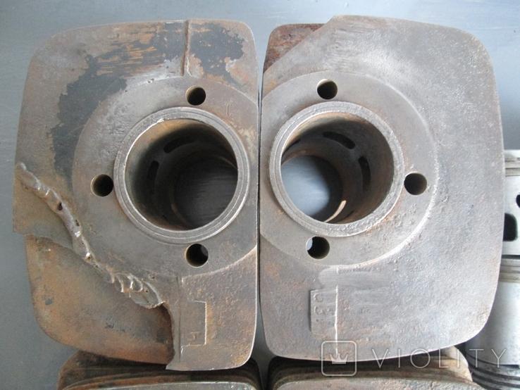 Цилиндры 4 шт. и поршни 6 шт. к мотоциклу Ява 634, фото №3