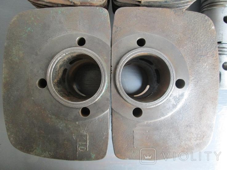 Цилиндры 4 шт. и поршни 6 шт. к мотоциклу Ява 634, фото №4