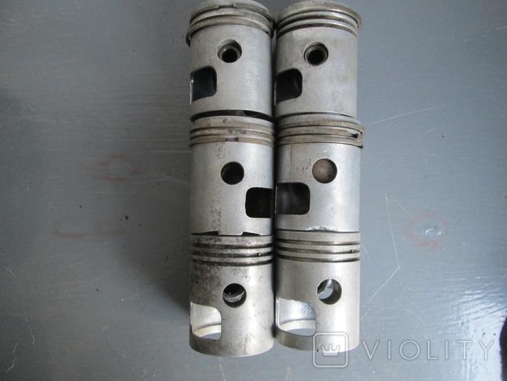 Цилиндры 4 шт. и поршни 6 шт. к мотоциклу Ява 634, фото №5