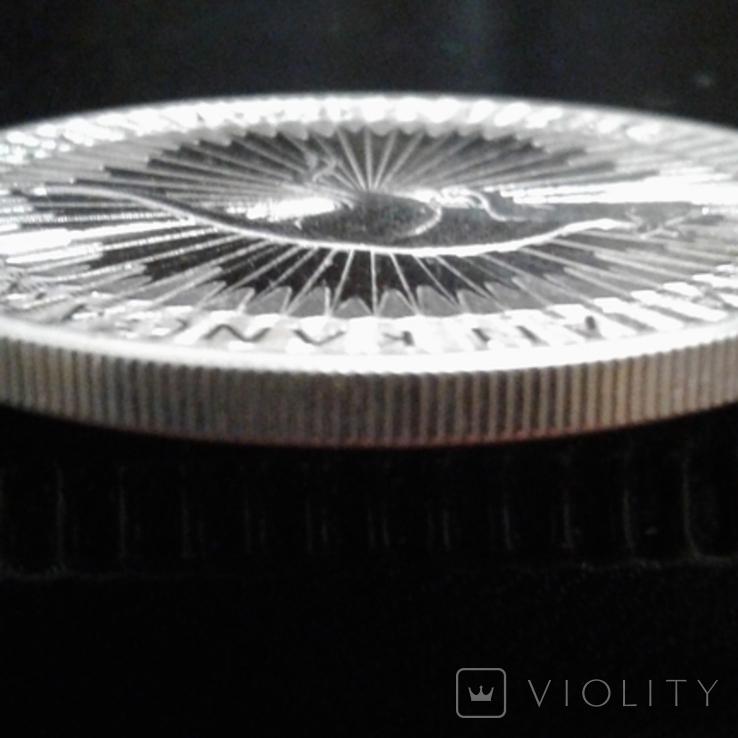 1 доллар 2019 года Австралия Кенгуру, 1oz 9999, фото №5