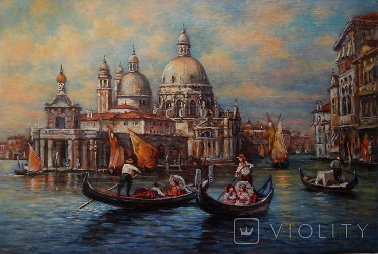 """""""Венеция"""" 40x60,2020, фото №2"""