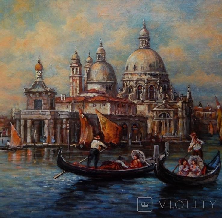 """""""Венеция"""" 40x60,2020, фото №3"""