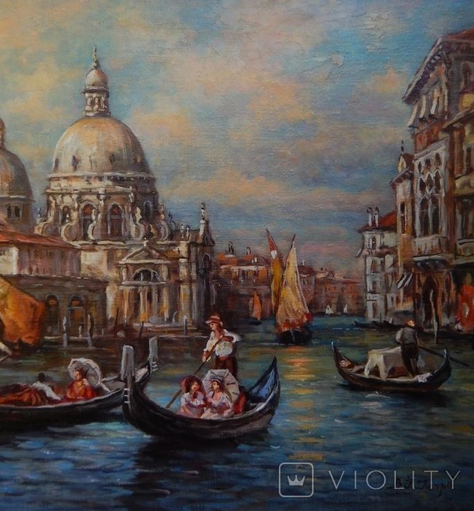 """""""Венеция"""" 40x60,2020, фото №4"""