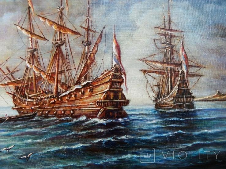 """Ships"" 30x40 2020, фото №4"