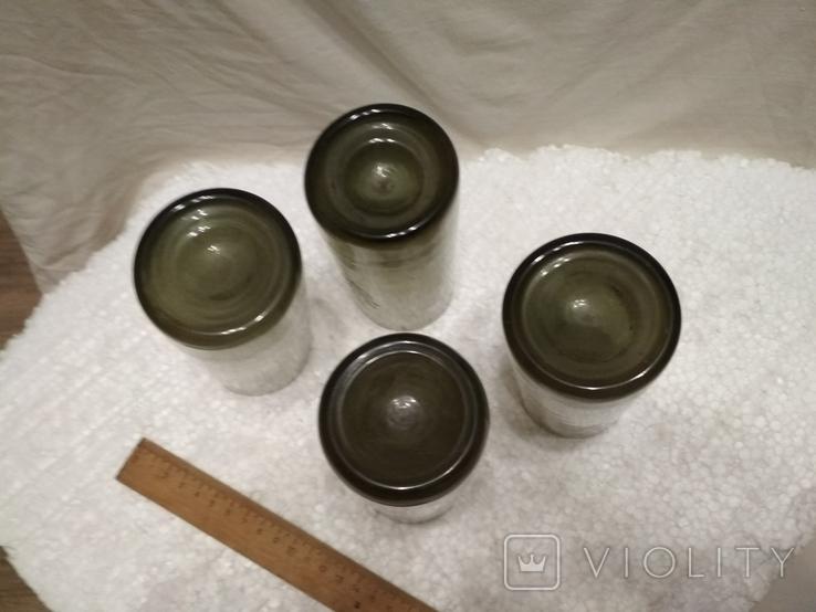 Стаканы  стекло 4 шт., фото №6