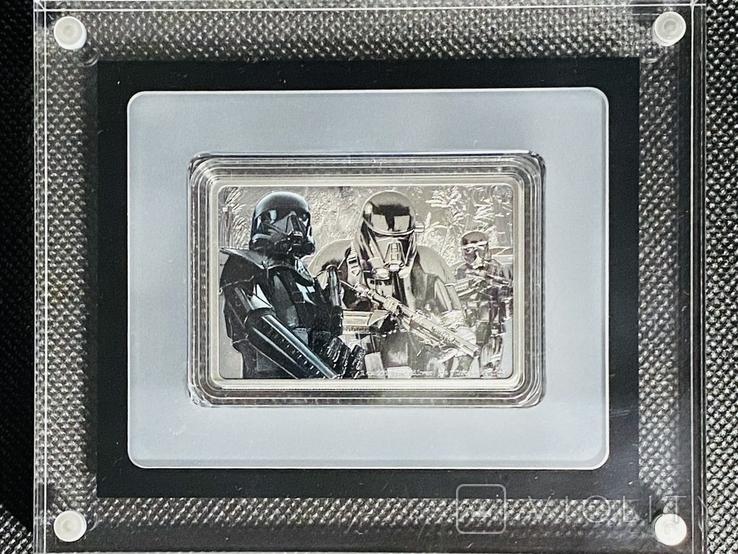 2 доллара. 2020. Звездные войны. Death Trooper. III (серебро 999, 1oz), фото №4