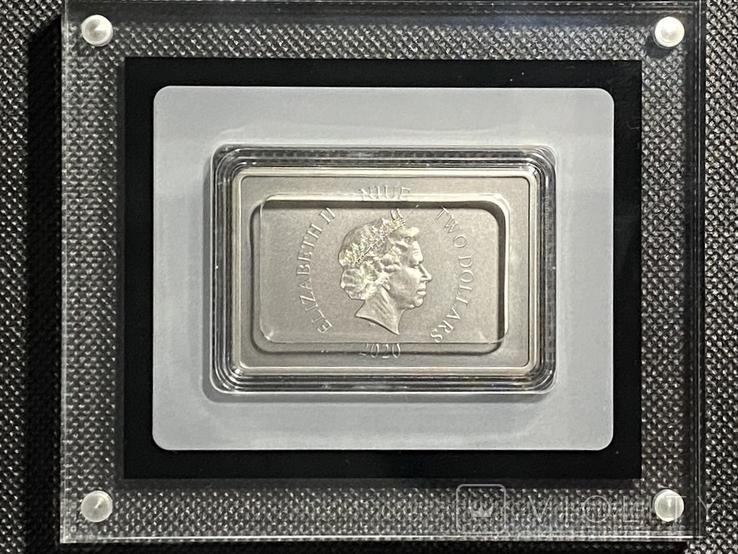 2 доллара. 2020. Звездные войны. Clone Trooper. II (серебро 999, 1oz), фото №5