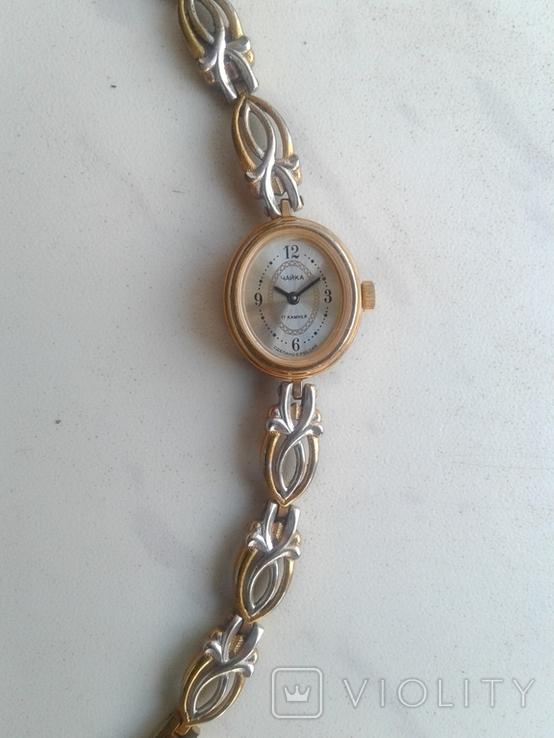 Часы ЧАЙКА  с браслетом, фото №5