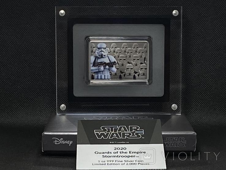 2 доллара. 2020. Звездные войны. Stormtrooper. I (серебро 999, 1oz), фото №2