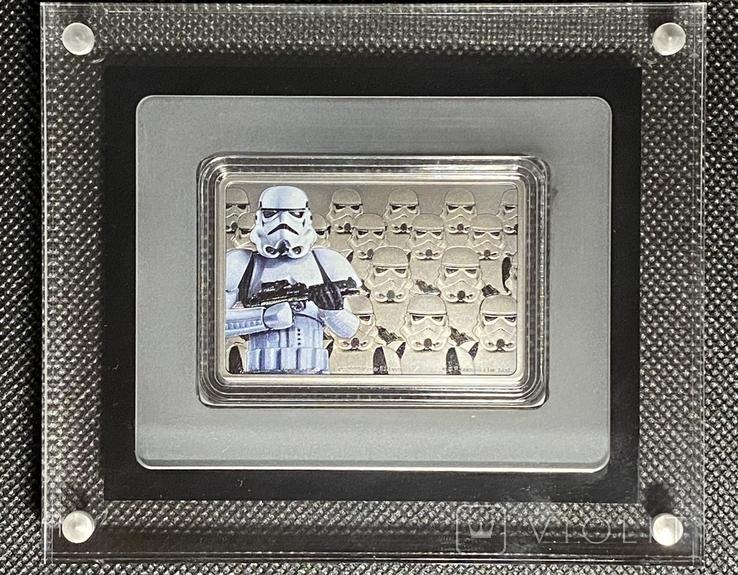 2 доллара. 2020. Звездные войны. Stormtrooper. I (серебро 999, 1oz), фото №4