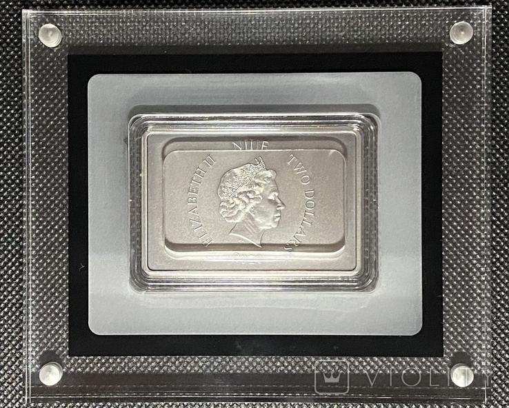 2 доллара. 2020. Звездные войны. Stormtrooper. I (серебро 999, 1oz), фото №5