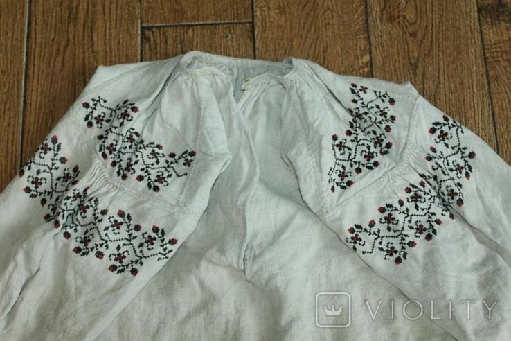 Сорочка вышиванка старинная №51, фото №3