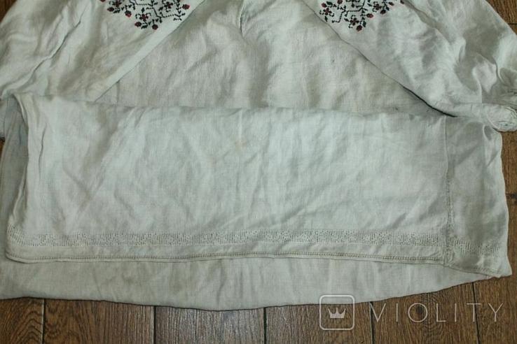 Сорочка вышиванка старинная №51, фото №9