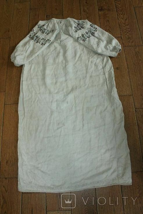 Сорочка вышиванка старинная №51, фото №10