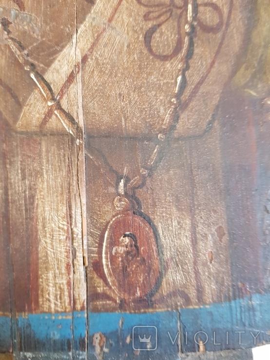 Икона двусторонняя 33х27, фото №5