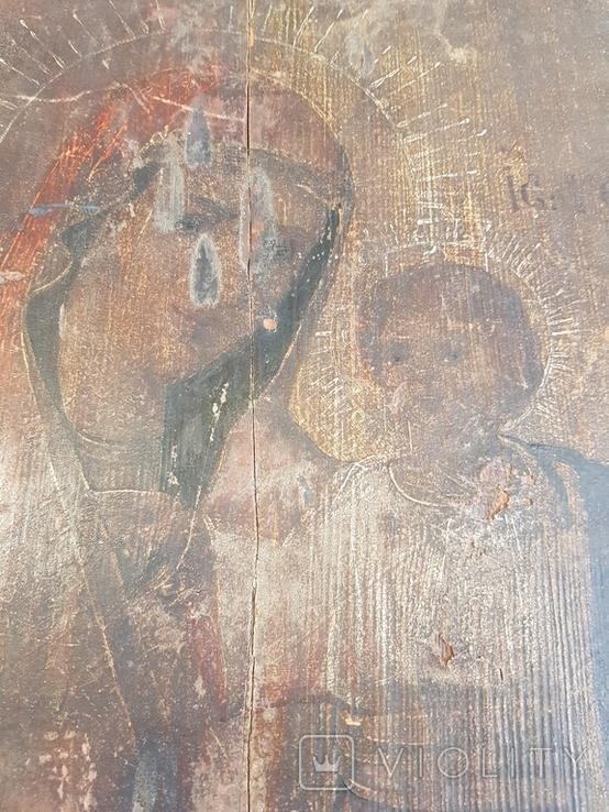 Икона двусторонняя 33х27, фото №8