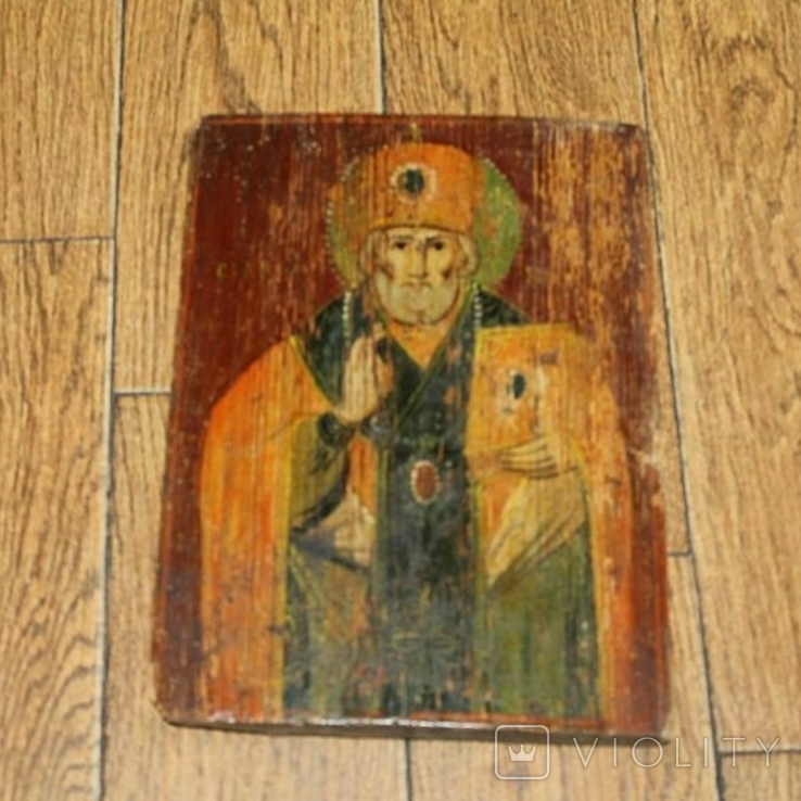 Икона старинная, фото №4