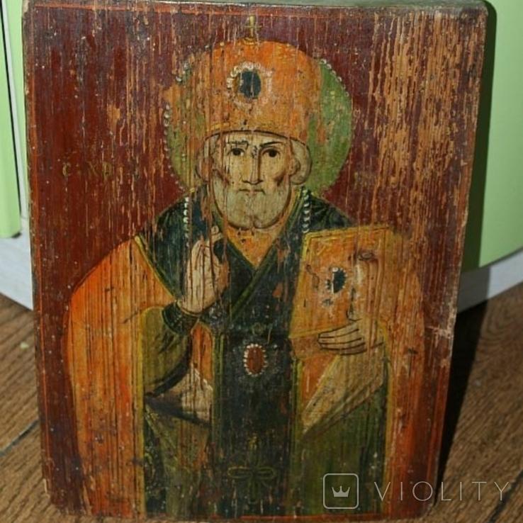 Икона старинная, фото №2