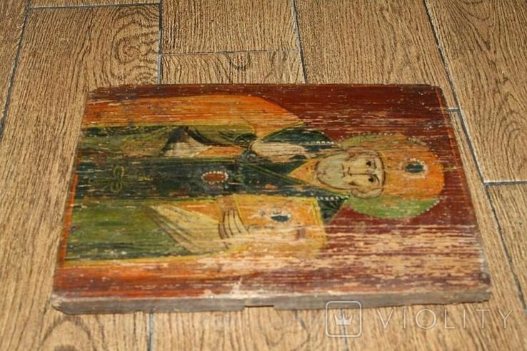 Икона старинная, фото №13