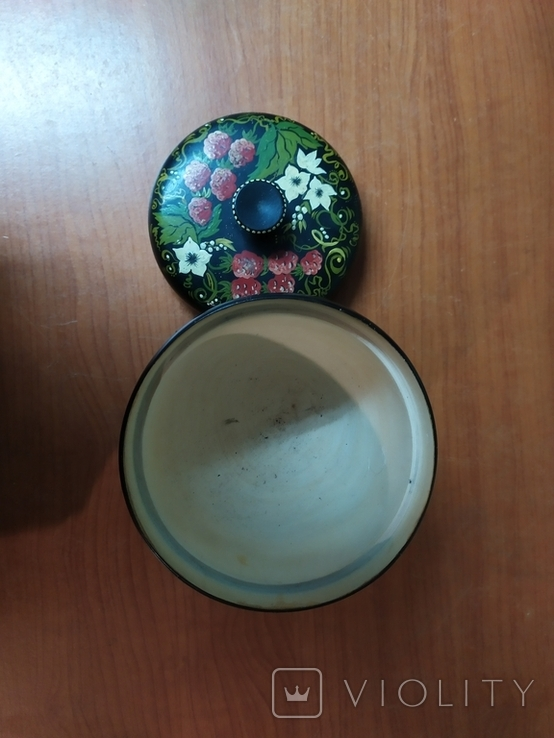 Расписнная кадушка для мёда, фото №3