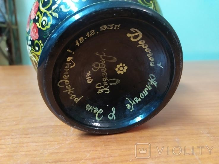 Расписнная кадушка для мёда, фото №5