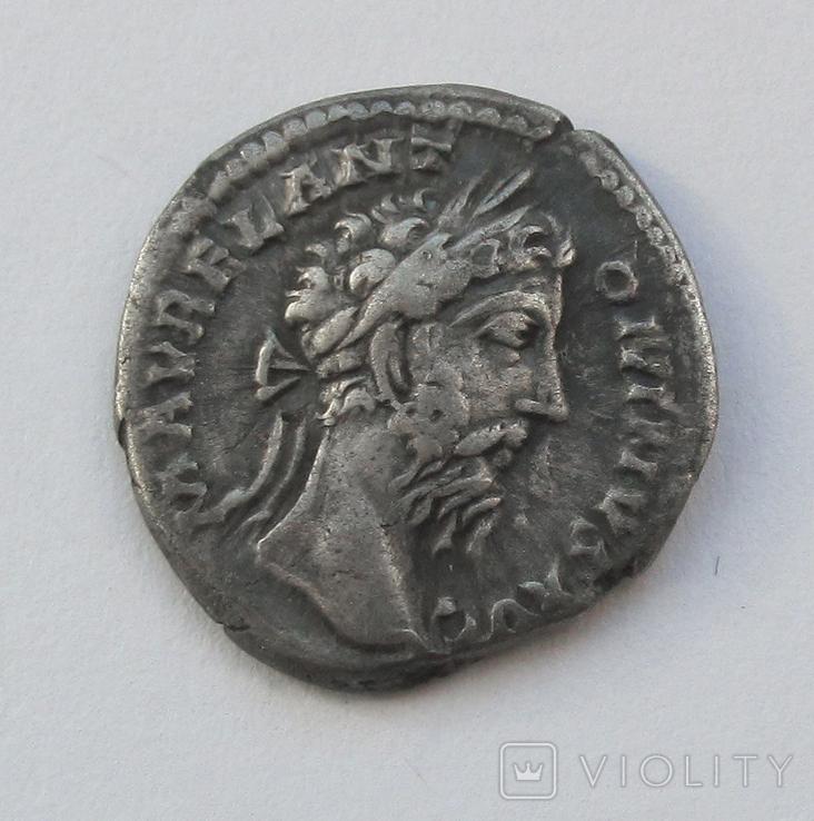 Денарий Марк Аврелий, фото №2