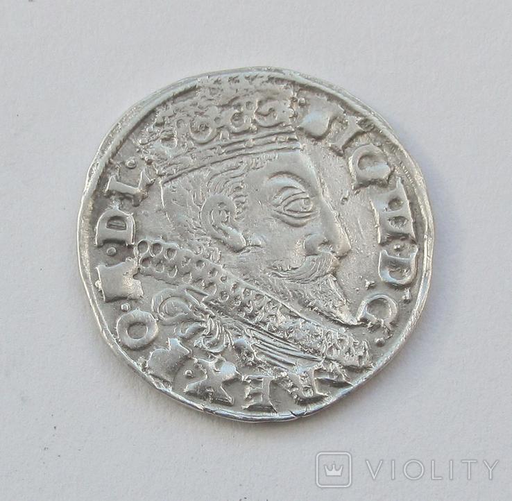 3 гроша 1598г, Сигизмунд III , г. Быдгощь
