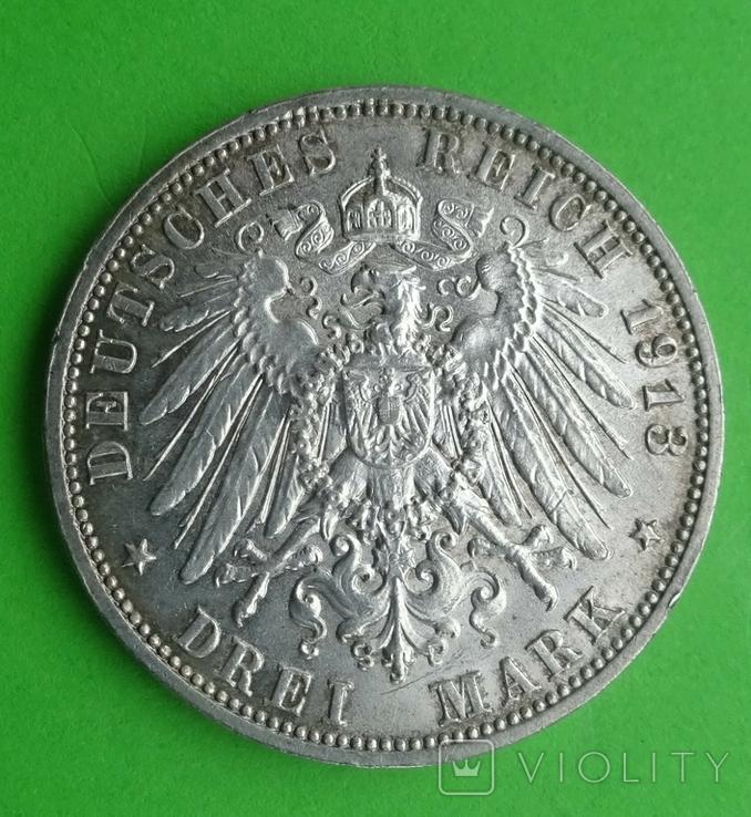 3 марки, 1913г, фото №6