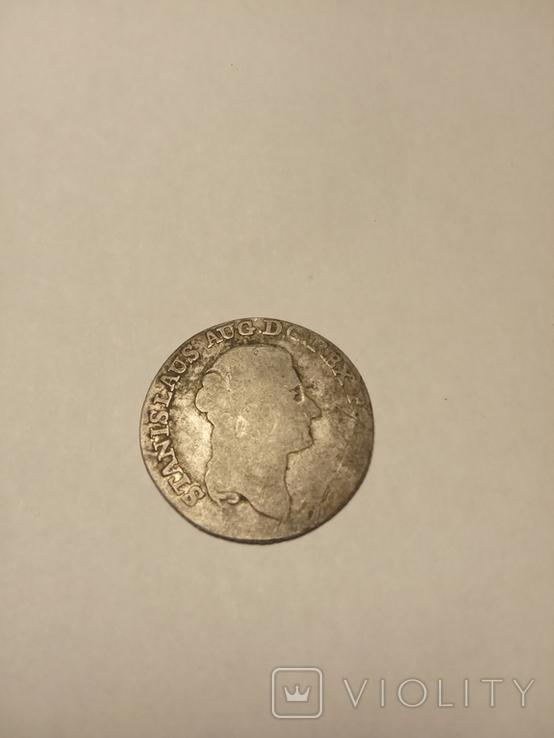 Четыре гроша 1793 г, фото №2