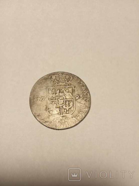 Четыре гроша 1793 г, фото №4